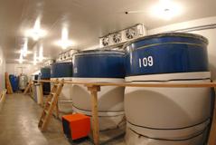 名倉山酒造 貯蔵庫