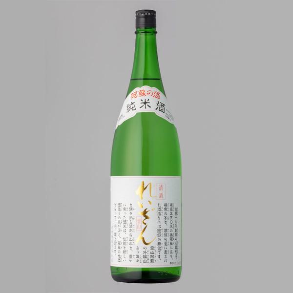 山村酒造 れいざん 純米酒 1800ml