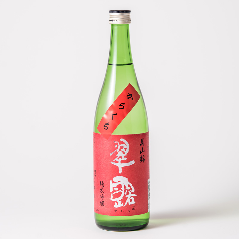 舞姫 翠露 純米吟醸 美山錦 からくち 720ml