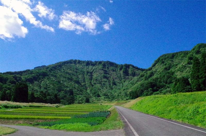 石塚酒造 自然風景