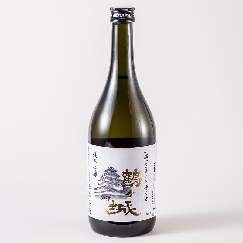 辰泉酒造 純米吟醸 鶴ヶ城720ml