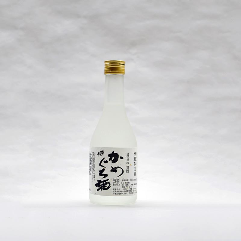 石塚酒造 雪眠洞貯蔵 かめぐち酒 300ml