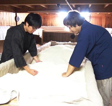 高田酒造場 麹室(こうじむろ)
