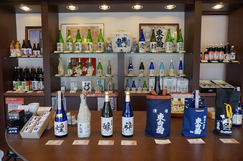 藤橋藤三郎商店 商品展示風景