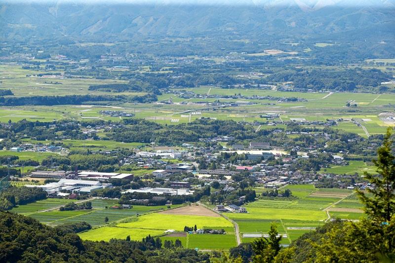 常楽酒造 熊本県球磨郡錦町の眺め