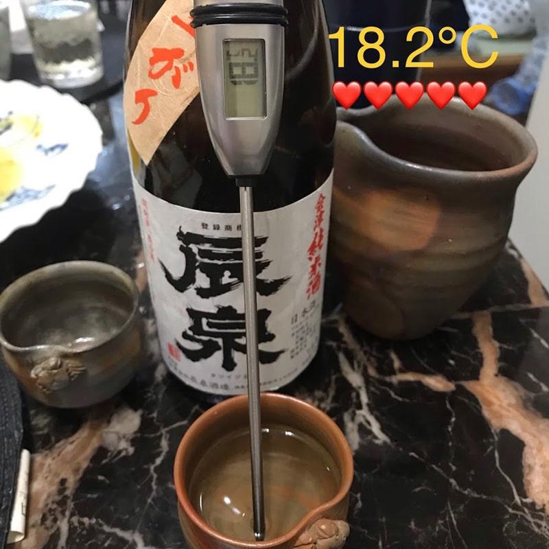 料理用温度計計測テスト
