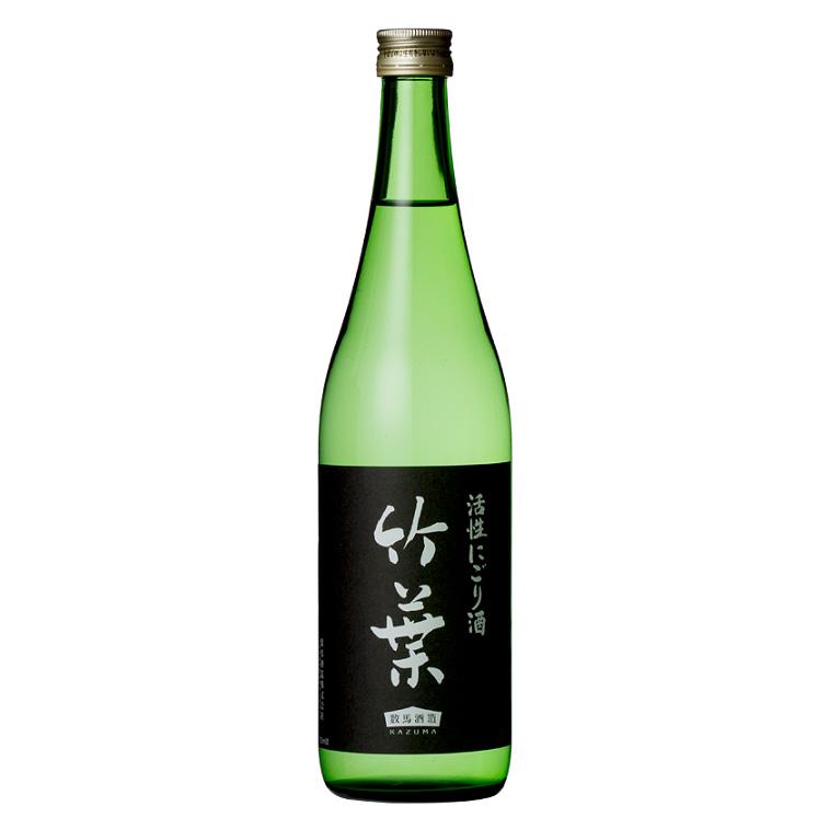 数馬酒造 竹葉 活性にごり酒 720ml