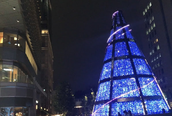 日比谷ミッドタウン クリスマスツリーイルミネーション