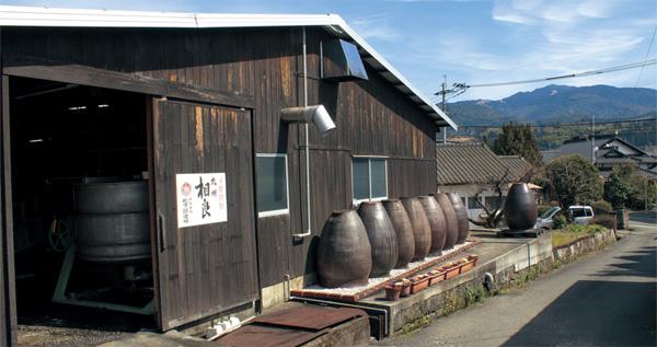 松下醸造場 蔵外観(サムネイル)