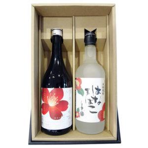 純米大吟醸&球磨焼酎 Set [花]