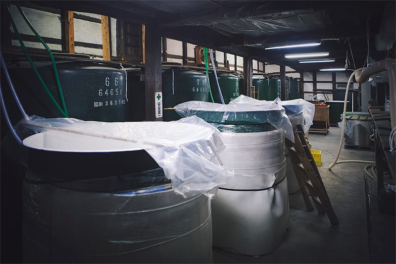 RiceWine『HINEMOS』醸造蔵−井上酒造 蔵内観