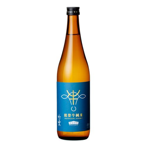数馬酒造 竹葉 能登牛純米 720ml