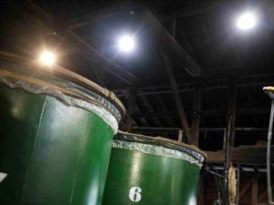 豊永酒造 貯蔵風景