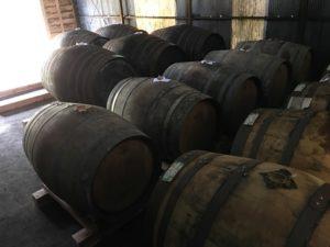 豊永酒造 樽風景