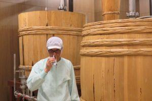 木樽蒸留器と池田杜氏