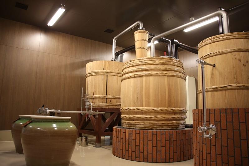 木樽蒸留器