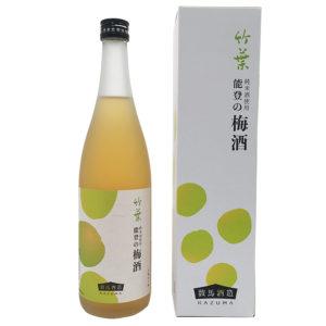数馬酒造 竹葉 能登の梅酒 720ml