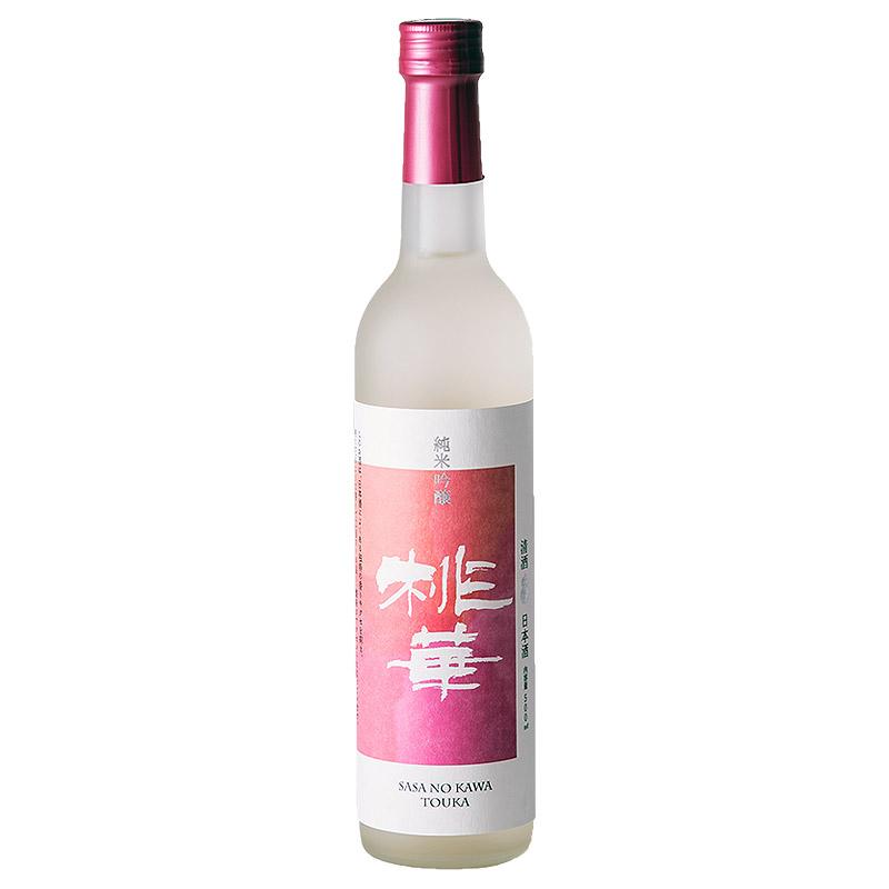 純米吟醸「桃華」(カートン無し)500ml