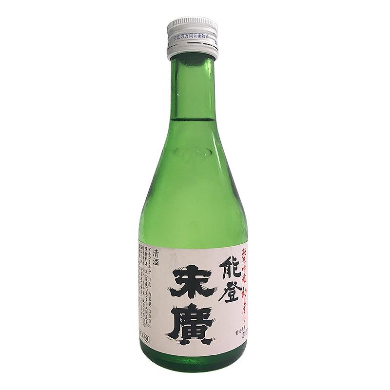 中島酒造店 能登末廣 純米吟醸 初しぼり 300ml