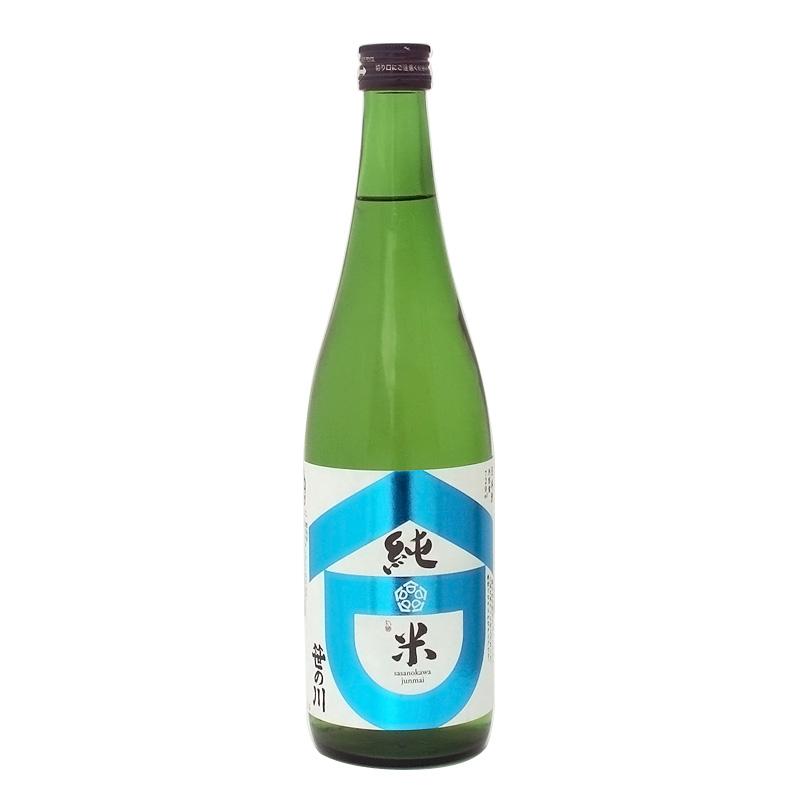 笹の川酒造 笹の川 純米酒 720ml