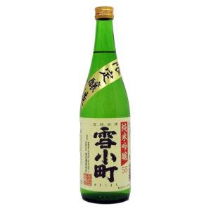 雪小町 純米吟醸 55% 720ml