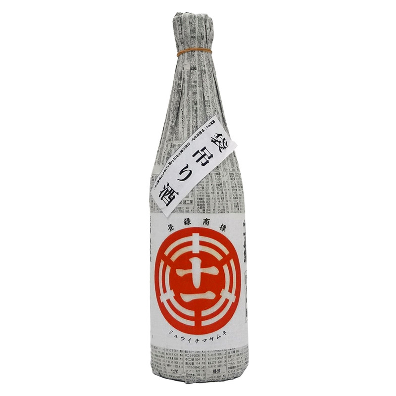 森戸酒造 純米吟醸 十一正宗 袋吊り 16度 720ml