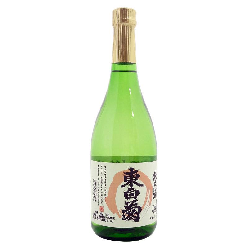 藤橋藤三郎商店 純米酒 東白菊 720ml