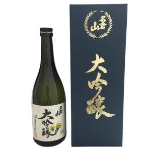 名倉山酒造 特選 大吟醸