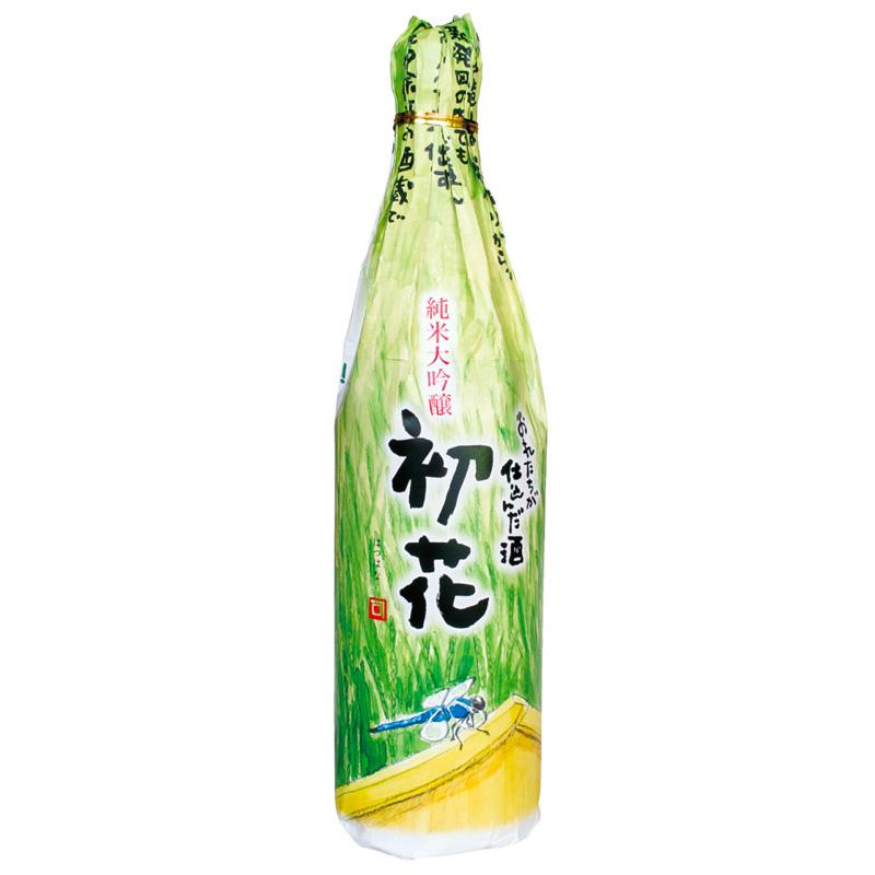 金升酒造 「おれたちが仕込んだ酒 純米大吟醸 初花」令和元年(2018年)度