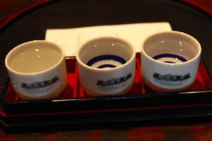 稲葉酒造きき酒(お奨め3種)