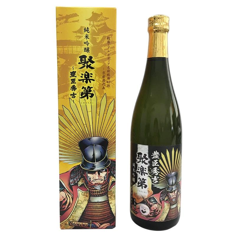 佐々木酒造 聚楽第 純米吟醸 豊臣秀吉 720ml(京都府)