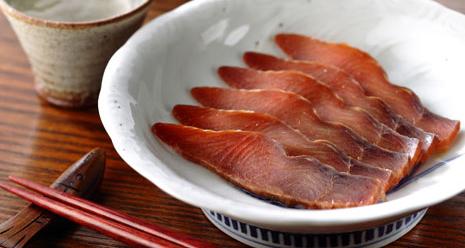 又上の『鮭の酒びたし』