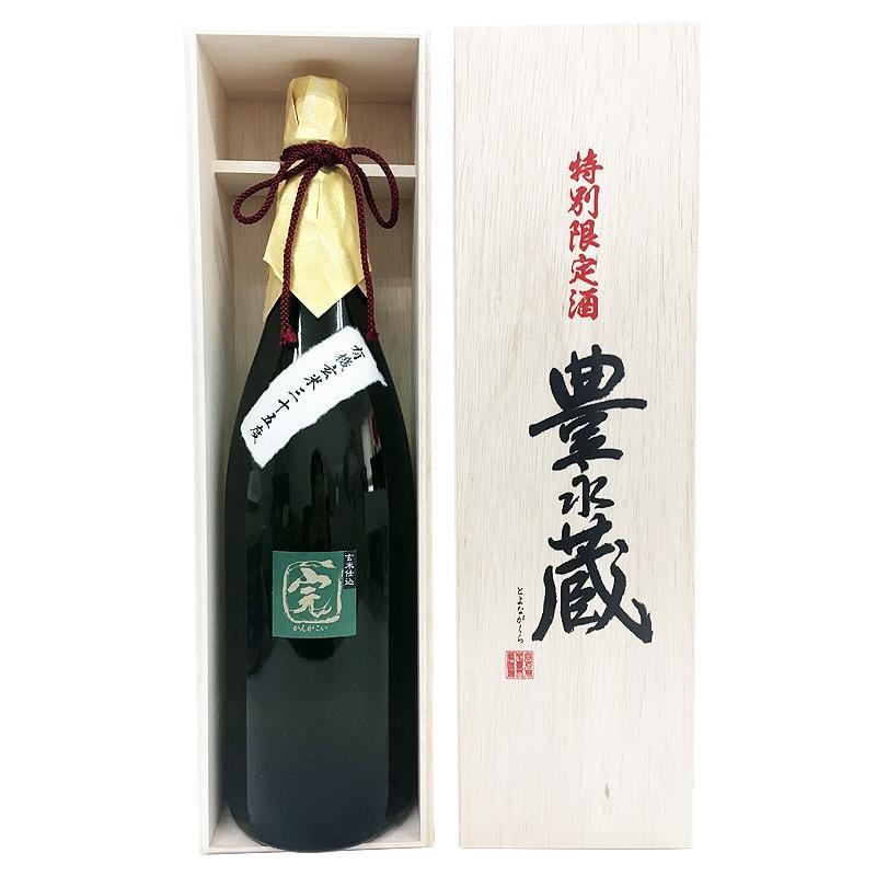豊永酒造 有機玄米 完がこい 木箱入り 1800ml