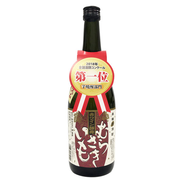 堤酒造 赤ワイン酵母仕込み むらさきいも 720ml