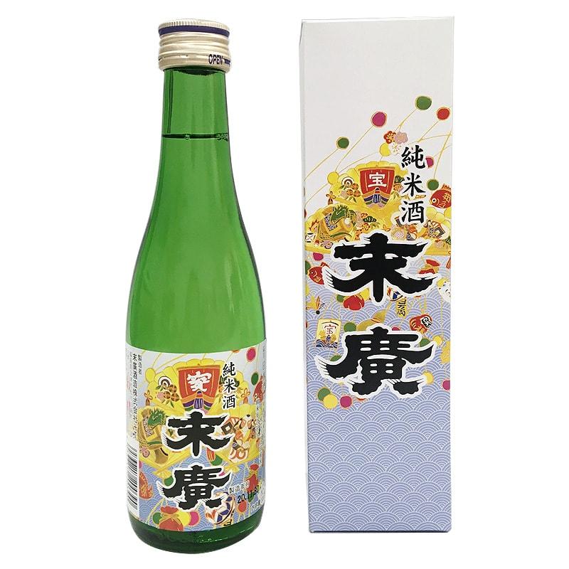 純米酒 祝い酒 末廣 300ml