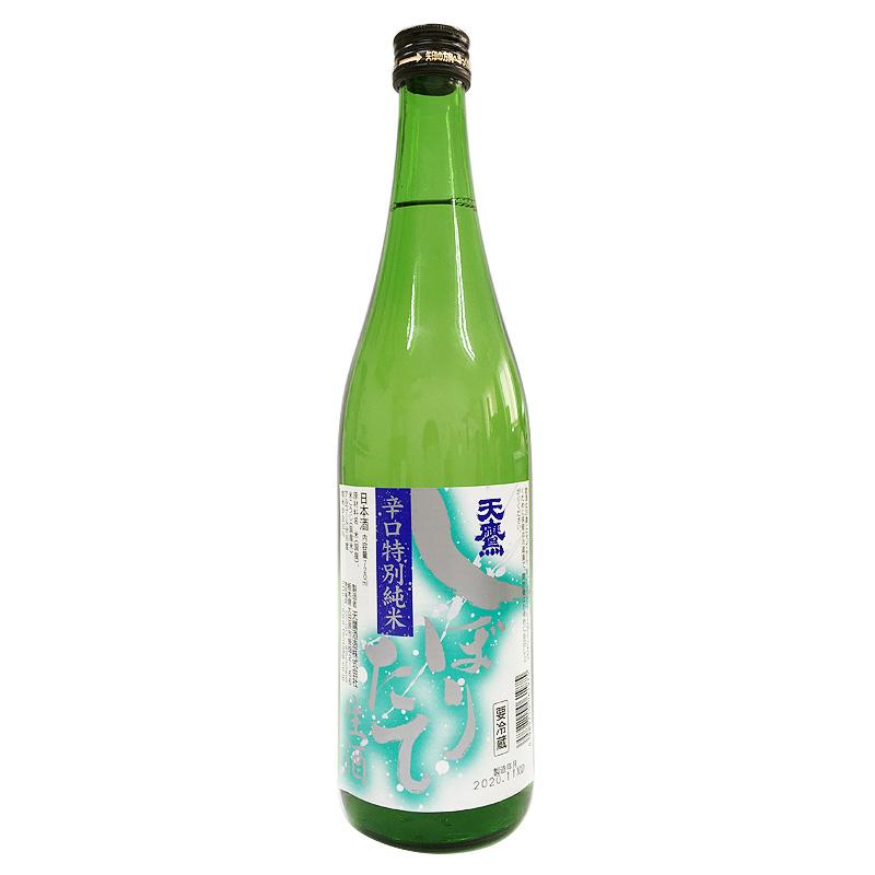 天鷹酒造 辛口 特別純米 天鷹 しぼりたて 720ml(栃木県)