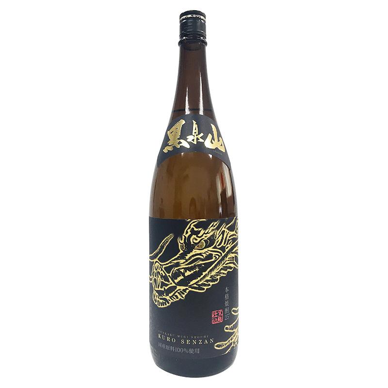 宗政酒造 本格麦焼酎 黒泉山 1800ml(佐賀県)