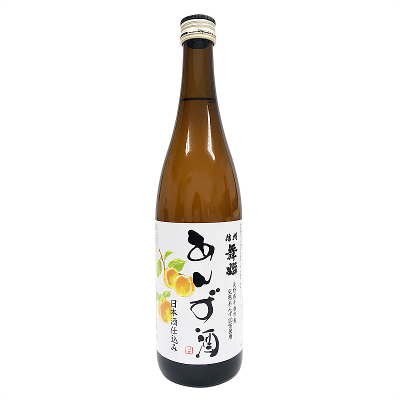 舞姫 信州舞姫 あんず酒 日本酒仕込み 720ml(長野県)