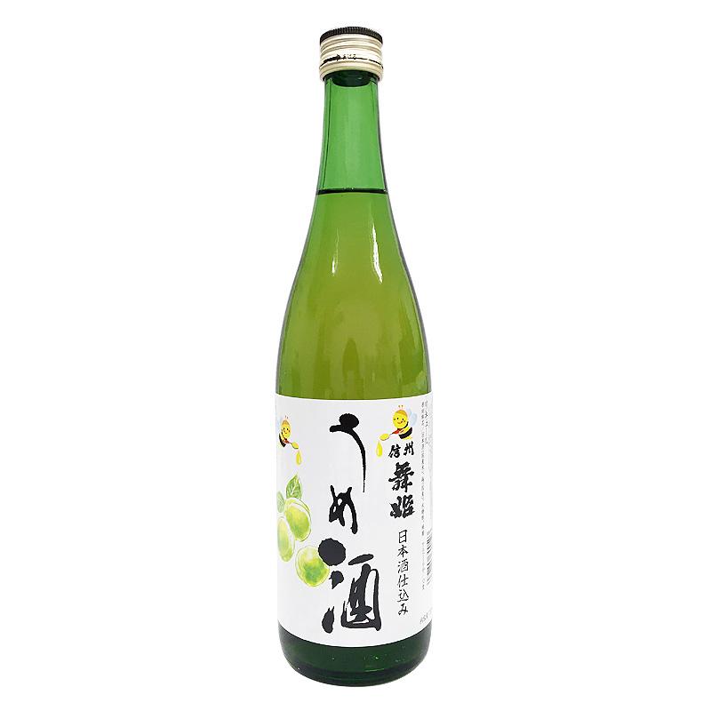 舞姫 信州舞姫 うめ酒 日本酒仕込み 720ml(長野県)