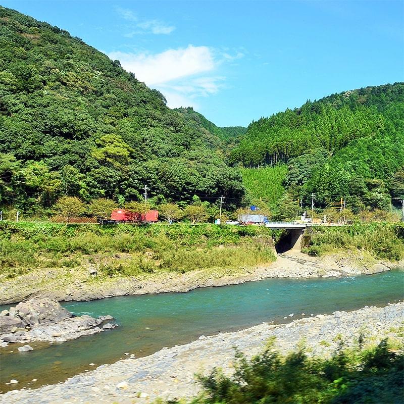球磨川風景