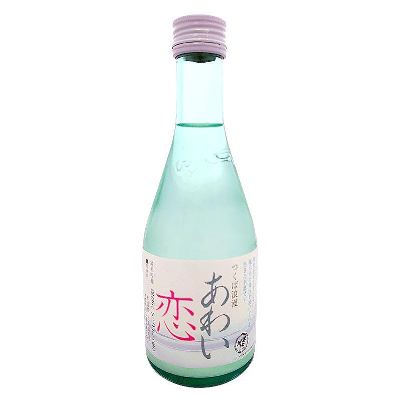 稲葉酒造 男女川 純米吟醸 本生 あわい恋 300ml(茨城県)