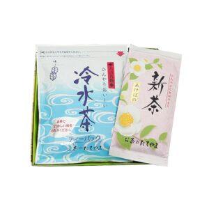 """球磨茶セット(""""新茶あけぼの""""と""""冷水茶"""")"""
