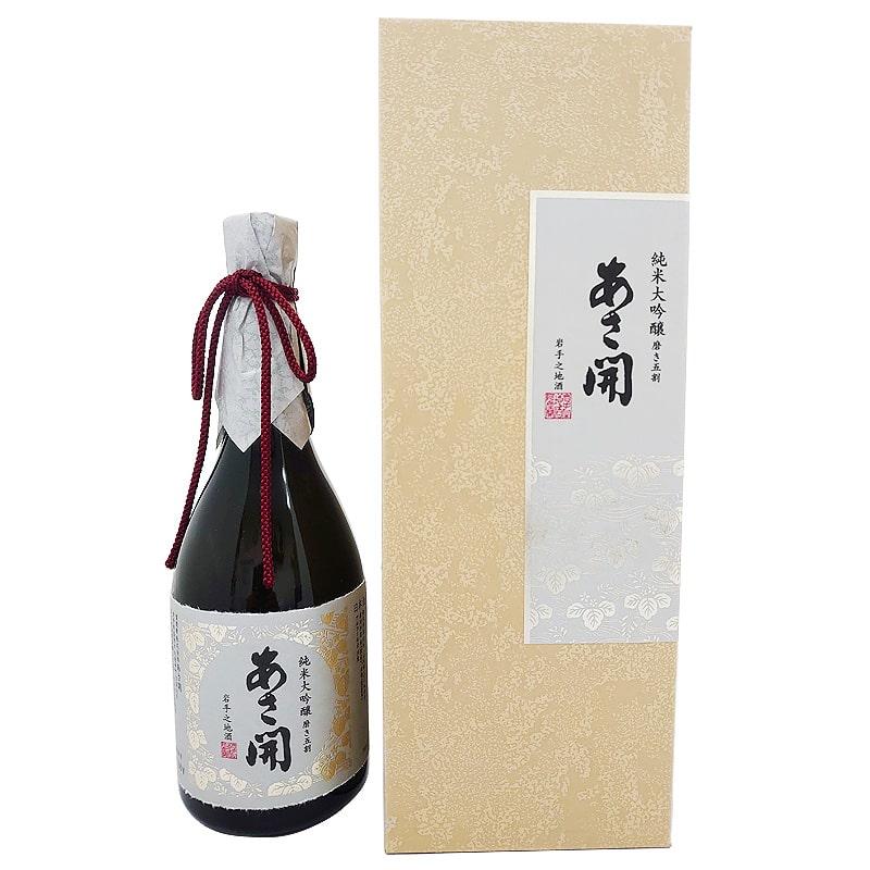 あさ開 純米大吟醸 磨き五割 720ml