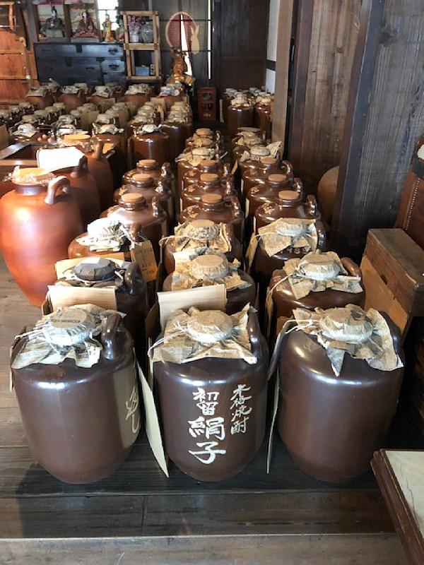 寿福酒造場 貯蔵風景