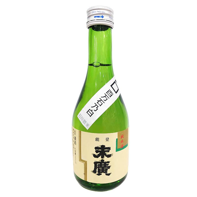 中島酒造店  能登末廣 純米酒 百万石乃白 300ml