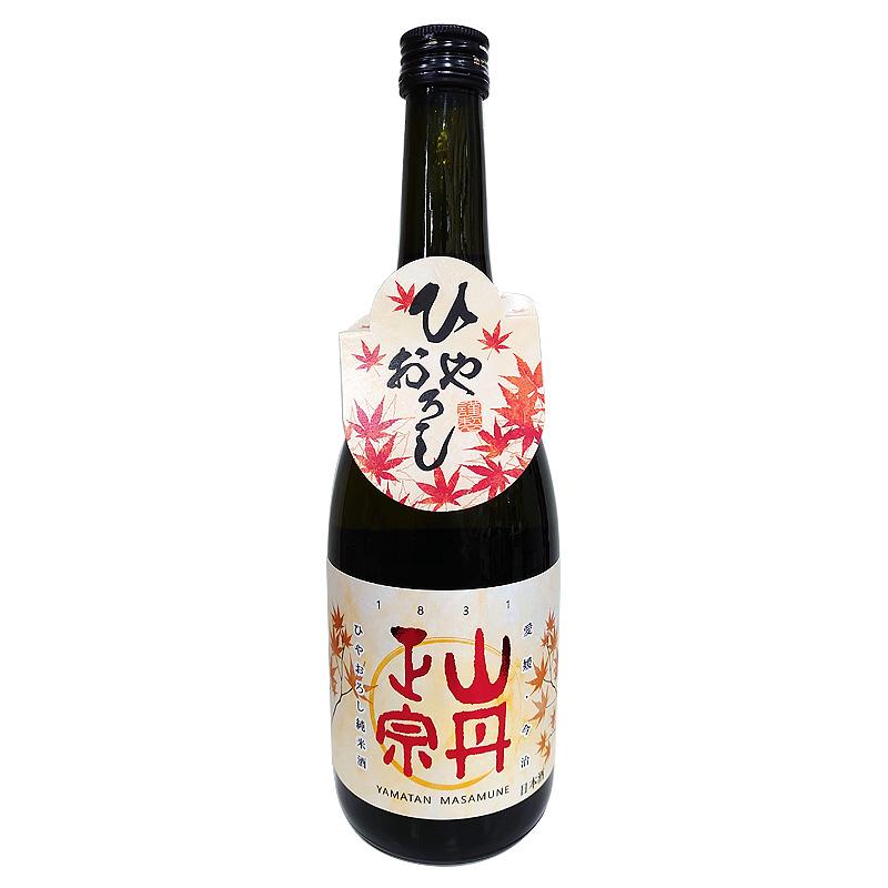 山丹正宗 ひやおろし 純米酒 720ml